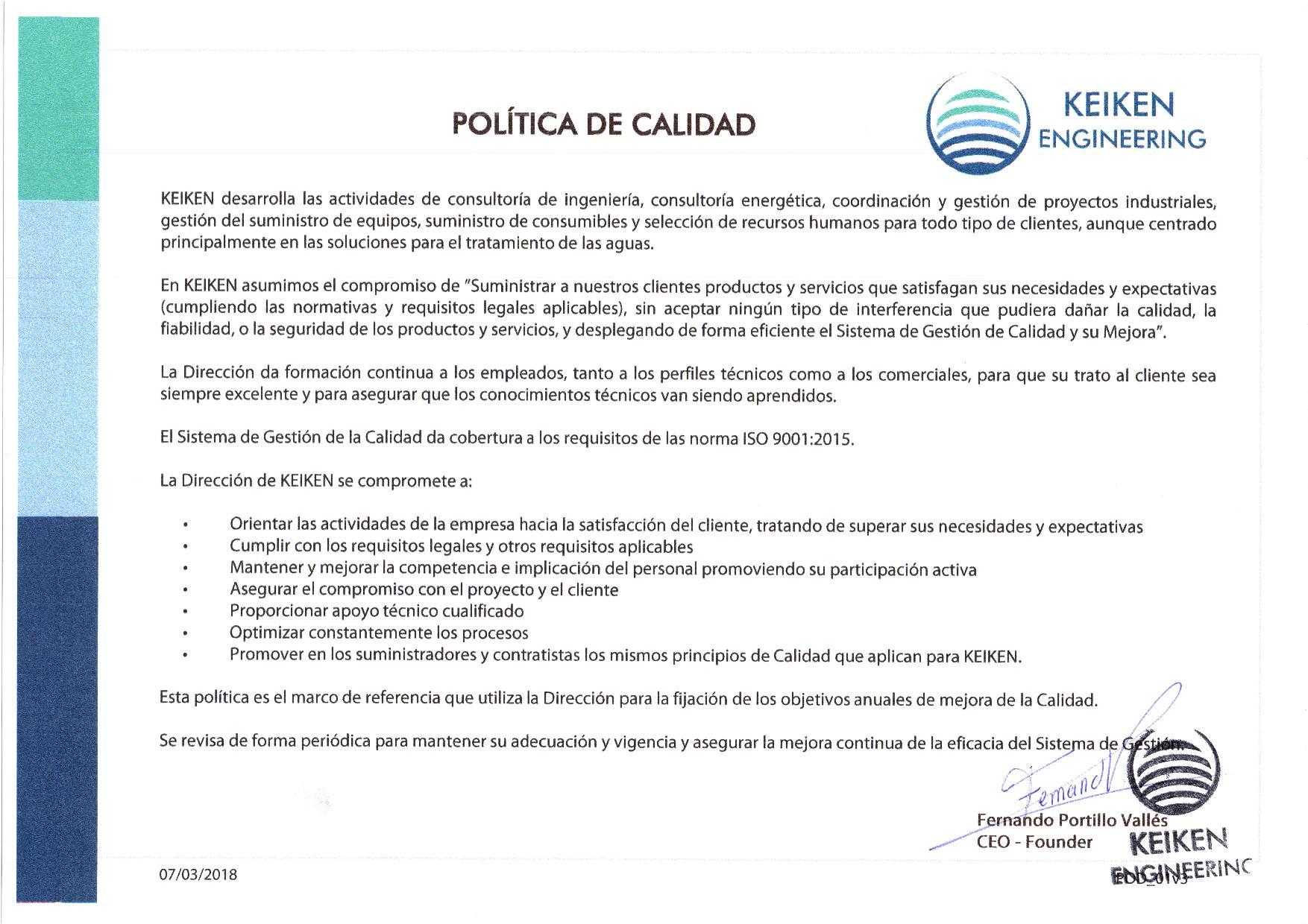 Política de calidad Rev3-page-001 - Keiken Engineering