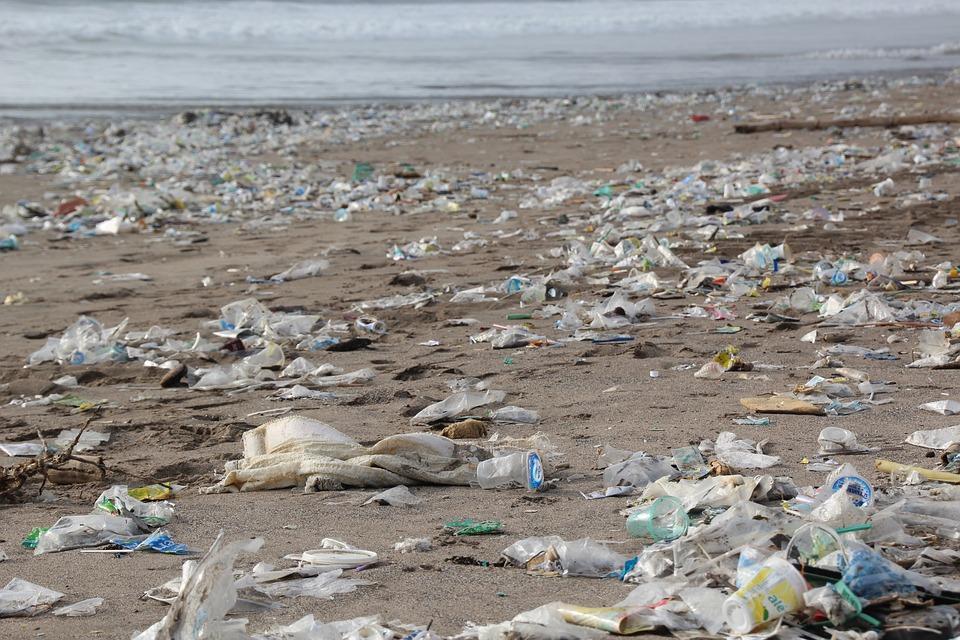 contaminación playa
