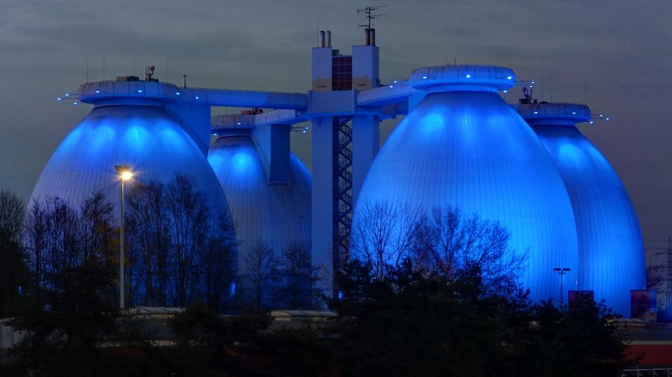 tanque biogás