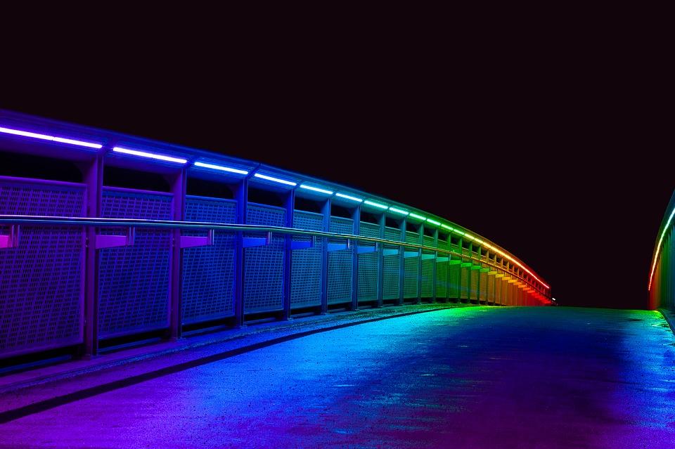 led colores