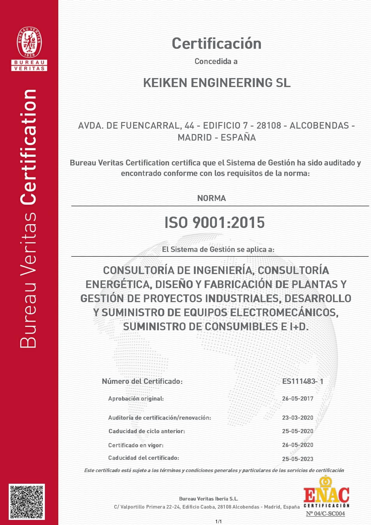 6676180-BUP-KEIKEN ENGINEERING SL-ESPAÑOL