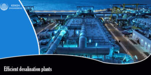What are the benefits of installing desalination plants?